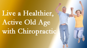 Minster Chiropractic Center welcomes older patients to incorporate chiropractic into their healthcare plan for pain relief and life's fun.