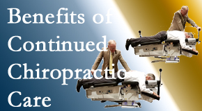 Minster Chiropractic Center presents continued chiropractic care (aka maintenance care) as it is research-documented as effective.