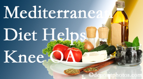 Minster Chiropractic Center shares recent research about how good a Mediterranean Diet is for knee osteoarthritis as well as quality of life improvement.