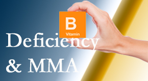 Minster Chiropractic Center knows B vitamin deficiencies and MMA levels may affect the brain and nervous system functions.