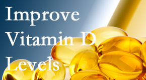 Minster Chiropractic Center explains that it's beneficial to raise vitamin D levels.