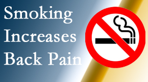 Minster Chiropractic Center explains that smoking intensifies the pain experience especially spine pain and headache.