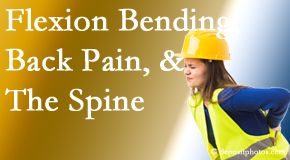 Minster Chiropractic Center helps workers with their low back pain because of forward bending, lifting and twisting.