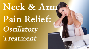 Minster Chiropractic Center relieves neck pain and related arm pain by using gentle motion-based manipulation.