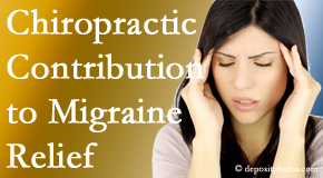Minster Chiropractic Center use gentle chiropractic treatment to migraine sufferers with related musculoskeletal tension wanting relief.