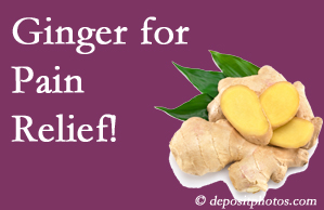 Minster chronic pain and osteoarthritis pain patients will want to check out ginger for its many varied benefits not least of which is pain reduction.