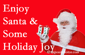Minster holiday joy and even fun with Santa are analyzed as to their potential for preventing divorce and increasing happiness.