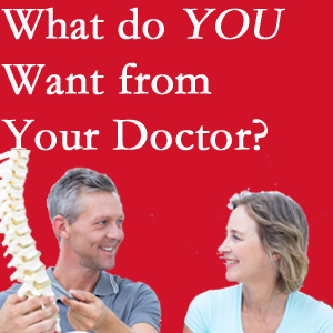 Minster chiropractic at Minster Chiropractic Center includes examination, diagnosis, treatment, and listening!