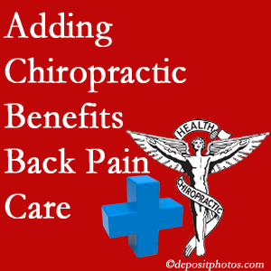 Added Minster chiropractic to back pain care plans helps back pain sufferers.