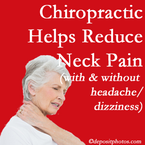 Minster chiropractic treatment of neck pain even with headache and dizziness relieves pain at a reduced cost and increased effectiveness.