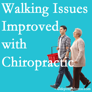 If Minster walking is an issue, Minster chiropractic care may well get you walking better.
