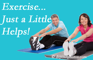 Minster Chiropractic Center encourages exercise for improved physical health as well as reduced cervical and lumbar pain.
