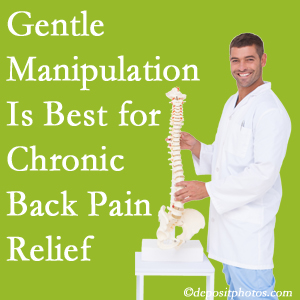 Gentle Minster chiropractic treatment of chronic low back pain is best.