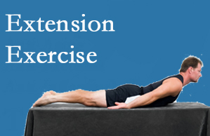 Minster Chiropractic Center recommends extensor strengthening exercises when back pain patients are ready for them.