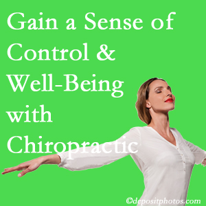 Using Minster chiropractic care as one complementary health alternative boosted patients sense of well-being and control of their health.