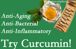 Pain-relieving curcumin may be a good addition to the Minster chiropractic treatment plan.