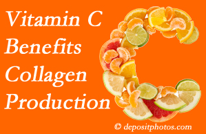Minster chiropractic shares tips on nutrition like vitamin C for boosting collagen production that decreases in musculoskeletal conditions.