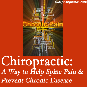 Minster Chiropractic Center helps relieve musculoskeletal pain which helps prevent chronic disease.