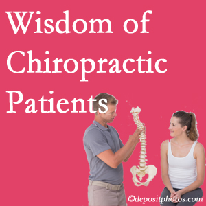 Many Minster back pain patients choose chiropractic at Minster Chiropractic Center to avoid back surgery.